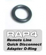 RAP4 Quick Disconnect Adapter (Female) O-ring (5stk) 008507
