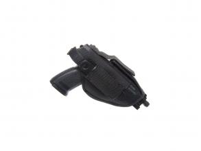 Strike hylster til store pistoler svart høyre eller venstrehendt