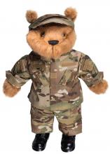 Uniform til teddybjørn US Army multicam/multitarn 52cm