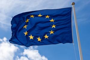 Fullstørrelse flagg fra EU 150x90cm