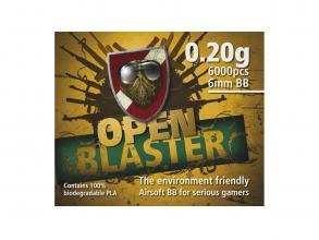 ASG Open Blaster 0,2g biokuler 6000 stk 17572