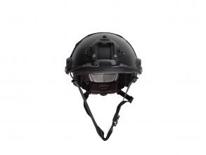 Strike Systems Fast hjelm svart 18050