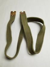 Lee Enfield geværreim original brukt grønn