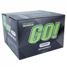 GO! Paintballs - Bronze- 2000stk