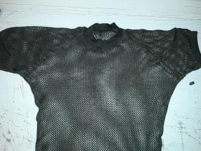 Forsvaret Aclima Woolnet T-shirt netting brukt grønn str liten