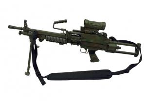 Combatkit geværreim til Minimi maskingevær i coyote brun