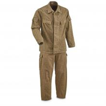 Østtysk NVA 2-delt uniform brukt