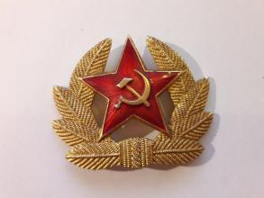 Sovjetisk luemerke brukt stort