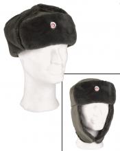 Østtysk NVA vinterlue hær/grensetropper original NY