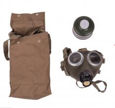 Ungarsk M67/M75 gassmaske m/filter