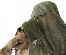 KombatUK Sniper Veil / Netting skjerf Coyote
