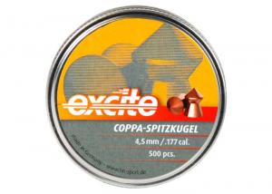 H&N Excite Coppa-Spitzkugel blyfrie 4,5mm 500 stk