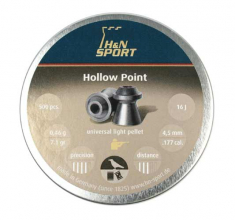 H&N Hollow Point hulspiss 500stk