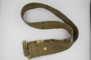 Forsvarets pistolbelte brukt ekstra langt
