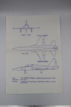 Kopier av fly fra 60-tallet