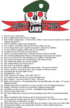 Murphy's Laws of Combat poster MP02