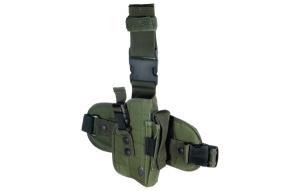 Leapers Special Ops lårhylster olivengrønt PVC-H178G