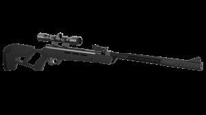 Crosman MAG-Fire Mission m/12-skudds magasin OG lyddemper! 1300fps/396ms