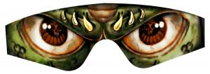 Skinz Demon Eyez olivengrønn JT Spectra