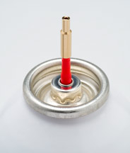 Abbey extension nozzle (forlenget fylletut til gassflasker)