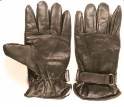 Forsvarets hanske, sort, arbeid, brukt