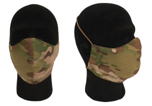 Combatkit munnbind/ansiktsmaske 2-lags i kamo og diverse farger