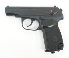 Baikal Makarov MP-654 K-32-1 helsvart CO2 luftpistol 4,5mm