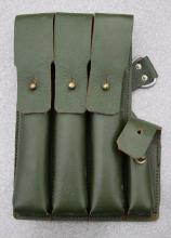 Schmeisser MP40 magasintaske 9mm grønn høyre