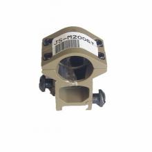 JS-TACTICAL høyt montasjesett sandfarget 25,4mm (1 tomme) til 21mm skinne