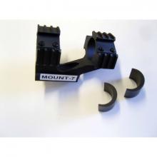 ROYAL siktemontasje høy m/picatinny 25,4mm/30mm