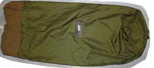 Ekstra stor skipssekk/pakksekk brukt grønn fra Sjøforsvaret