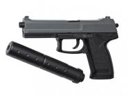 ASG Socom mk23 fjærpistol 15918 med lyddemper