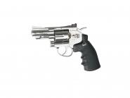 """ASG Dan Wesson luftpistol sølv 2,5"""" vanlige kuler"""