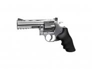 """ASG Dan Wesson 715 luftpistol sølv 4"""" vanlige kuler 125ms 18612"""