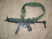 Combatkit 3-punkts reim til Mp5A3/A5 grønn
