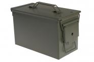 Forsvarets ammunisjonskasse metall middels