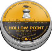 Coal WP Hollow Point 500 stk 4,5mm