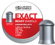 JSB Diabolo Beast ekstremt tung 4,52mm 250 stk