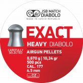 JSB Exact Heavy 4,52mm 500stk