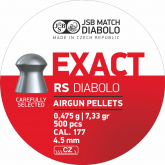 JSB Diabolo Exact RS 4,52 mm høyhastighet 500 stk