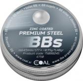 Coal rundkuler sinkbelagt 750 stk 4,5mm