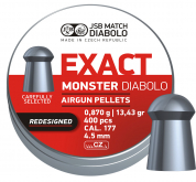 JSB Monster 4,52mm ekstra tung 400stk redesigned