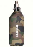 RAP4 neoprene trekk til 0,8l lufttank woodland kamo 006184