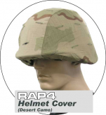 RAP4 hjelmtrekk 3-fargers ørkenkamo 001901