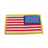 US skulderflagg i farger borrelås King Arms KA-AC-2153-CO
