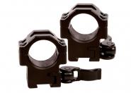 Leapers hurtigmontasjesett 25,4mm (1 tomme) 11mm skinne