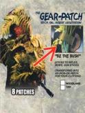 Bushrag Gear Patch woodland 8-pakk GP-812 WD