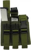 King Arms trippel magasinlomme pistol olivengrønn KA-MP-02-OD