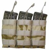Combatkit M1 trippel CQB HK416 maglomme coyote brun stor MAS350T