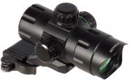 Leapers rød-/grønnpunktsikte m/hurtigmontasje 21mm